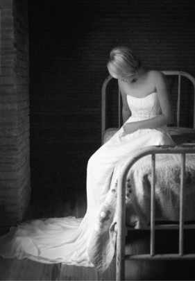 Bride on Bed