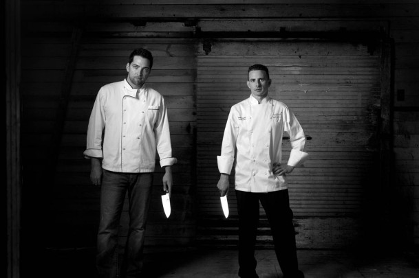 Chefs with Knifes