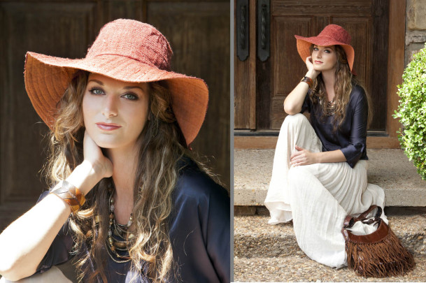 Girl in Floppy Hat