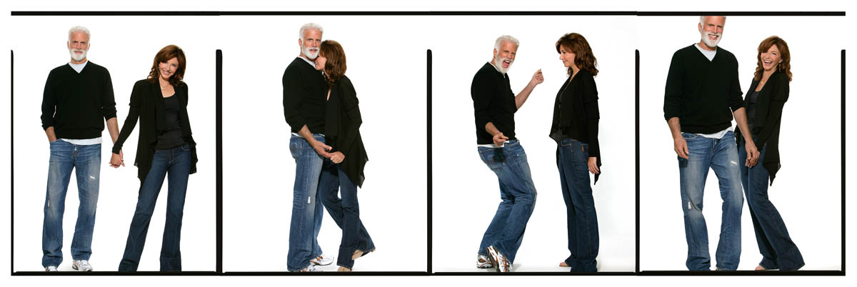 Mary Steenburgen and Ted Danson Dancing