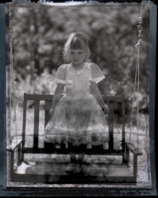 Ghost Girl on Swing