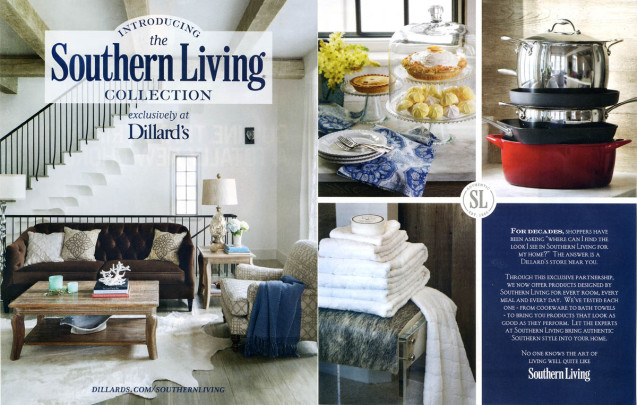 Southern Living 2015 Home Collection Ad