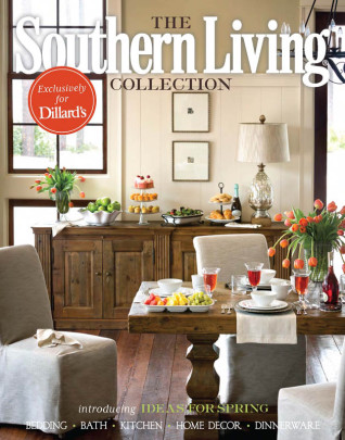 Southern Living for Dillards Home Collection 2015 Catalog