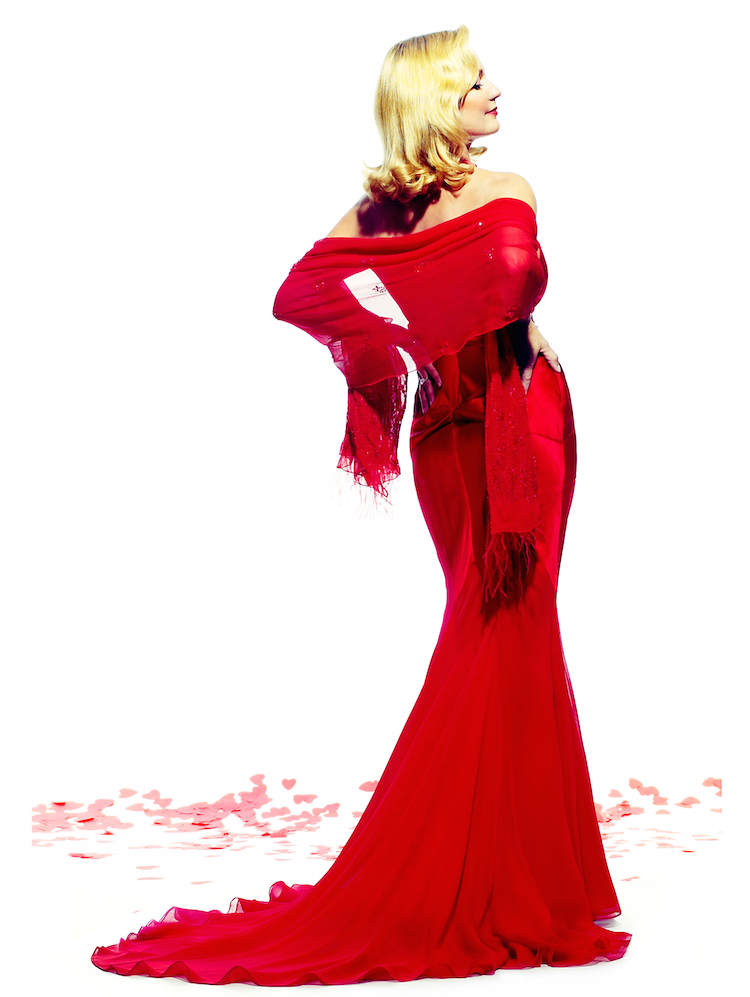Lady Red Dress